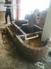 佛山海鮮池安裝 海鮮魚池 定做東坦魚池圖片