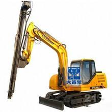 介绍一安装在挖掘机挖机上的凿岩机YD500挖改凿岩机图片