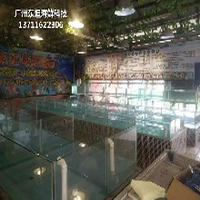 從化街口海鮮池配件 玻璃魚缸圖片