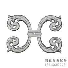秦皇岛铝艺护栏铝艺大门配件装饰铝花图片