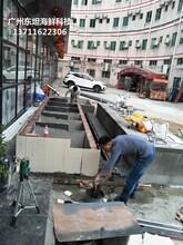廣州荔灣玻璃海鮮池多少錢 海鮮池 梯形魚池土建魚池圖片