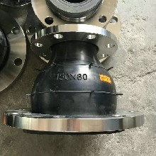 异径橡胶软接头-郑州专业的KYT型可曲挠变径橡胶软接头规格图片