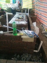 廣州番禺哪里訂做水產店制冷魚池 大排檔海鮮魚池圖片