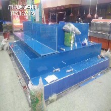 廣州荔灣定做可移動海鮮池 大排檔海鮮魚池圖片