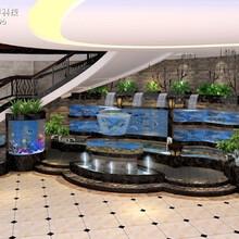 陽江飯店海鮮魚池定做電話 飯店海鮮魚池定做 可定制圖片