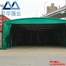 苏州做推拉雨棚的/上门雨棚安装/雨棚专业厂家图片