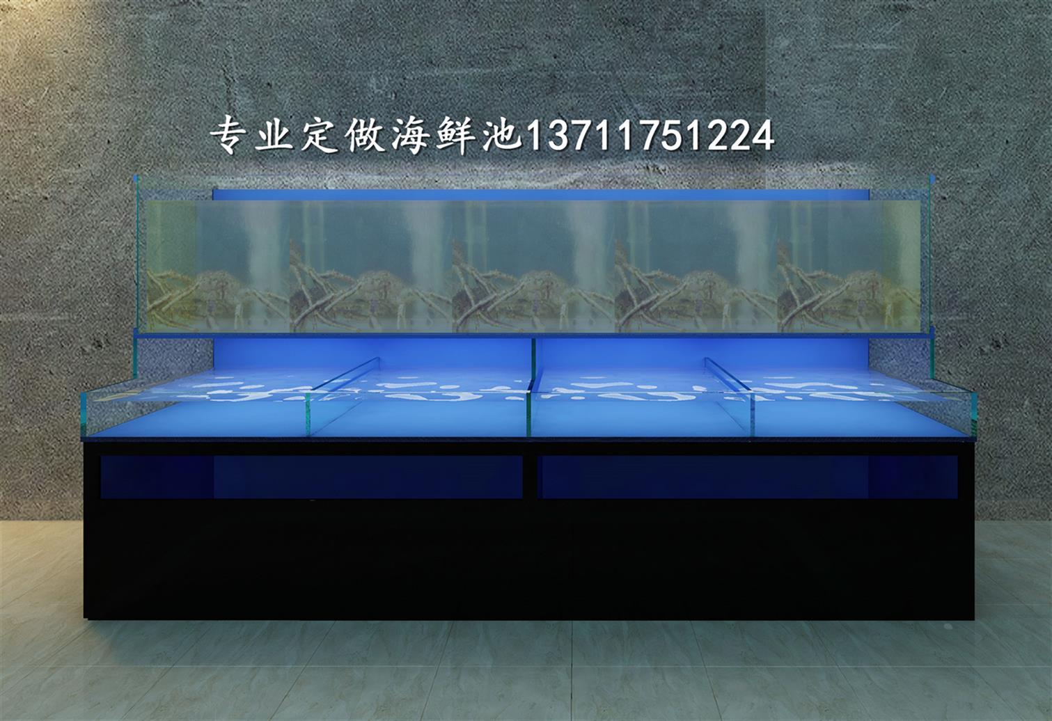 廣州長興海鮮池安裝