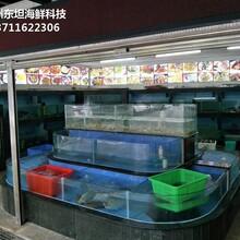 廣州番禺定做可移動海鮮池 超市魚池 廣州海鮮池圖片