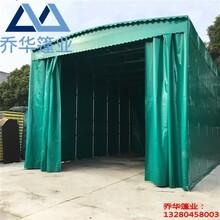 开封推拉棚安装/专业雨棚厂家/推拉遮阳蓬图片