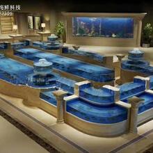 肇慶海鮮池定做哪家好 飯店海鮮魚池定做 專業生產廠家圖片