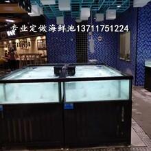 廣州沙東玻璃海鮮池價格 海鮮魚池圖片