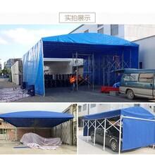 济宁专用电动推拉雨棚厂 电动推拉雨蓬 免费测量图片