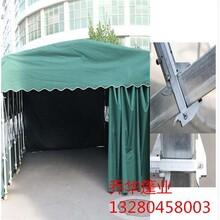 宿迁推拉雨篷厂 推拉雨篷 厂家直供 安装简单图片