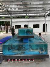 東莞橫瀝定做不銹鋼海鮮池 酒店海鮮池圖片