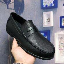 广州真皮男鞋工厂专业生产品牌手工休闲商务正装皮鞋承接OEM贴牌加工图片