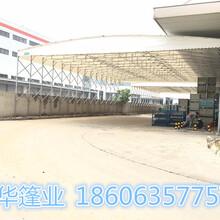 佛山专用活动推拉雨棚厂 活动推拉雨蓬 高防腐 涂层薄图片