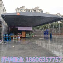 保定电动推拉式雨蓬厂 推拉式雨棚 施工技术过硬图片