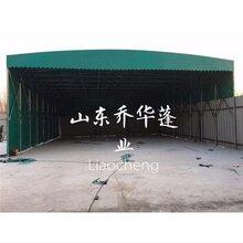 衡阳现货电动推拉雨棚厂 电动推拉雨蓬 厂家定做图片