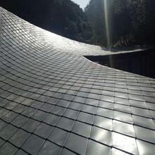 直立锁边430型铝镁锰面板 金属屋面 氟碳漆 久亚发图片