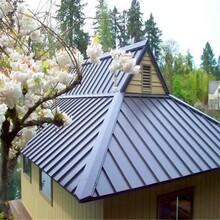 0.8厚铝镁锰金属屋面板25-430型330型 金属屋面 深灰色图片