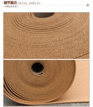 现货供应幼儿园扎图钉软木墙板8毫米/9毫米/10毫米图片