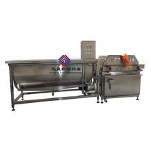 多功能渦流洗菜機-洗蔬菜水果消毒機-清洗去皮加工設備圖片