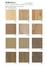 保定木紋美麗鋁板廠家 美麗覆膜板圖片