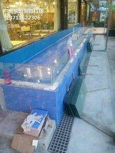 深圳海鲜鱼缸图片 渔民新村海鲜鱼池 定做东坦鱼池