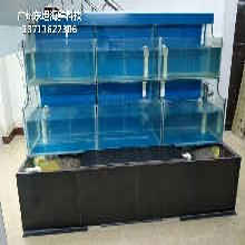 广州花都哪里订做酒店海鲜池 海鲜市场玻璃鱼池
