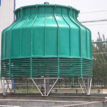廣州圓形冷卻塔廠家_逆流式玻璃鋼冷卻塔當選唐山科力空調