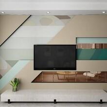 江苏优质水转印竹炭背景墙生产 水转印背景墙图片