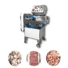 自动斩排骨粒机,猪蹄切块切粒机,切硬物料机图片