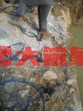 汕头5000吨液压劈裂机矿山开采爆破机械设备 分裂机图片