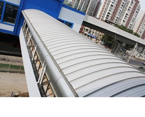上海幕墙铝镁锰板YX65-500型