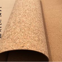 软木布贴合软木卷材-新型消音环保软木墙板图片