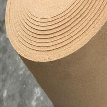 1毫米2毫米4毫米厚軟木卷材可背膠改色-軟木市場價格圖片