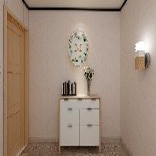 宁波环保实心竹炭纤维护墙板报价 竹炭集成墙面 兔宝宝图片