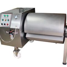 鸡肉猪肉真空腌制机,真空滚揉机肉制品加工设备图片
