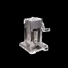 灌肠机电动商用立式灌肠机不锈钢电动灌肠机自动灌肠机灌肉泥机香肠机图片