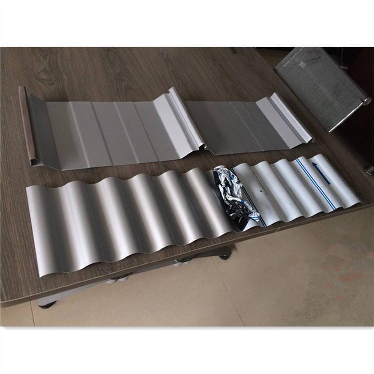 貴陽市暗扣板彩鋼鋁鎂錳暗扣板760型銷售安裝