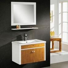 怀化专业定制竹炭浴室柜费用 浴室柜图片