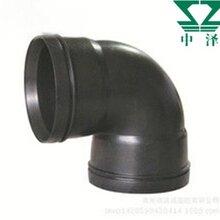 聚乙烯HDPE中空壁静音排水管河南中泽新材料专业供应热熔承插HDPE静音排水管