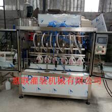 2头尿素灌装机防冻液灌装机桶装白酒灌装设备图片