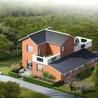 轻钢别墅 钢结构房屋施工