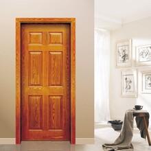 鞍山供应竹木纤维套装门规格 竹木防水门图片