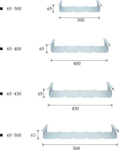 铝镁锰板YX65图