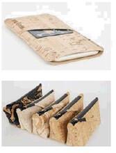 软木皮笔记本封面-环保时尚软木皮革图片