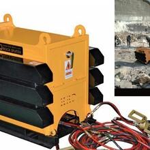 合肥市劈裂棒荒料板材劈裂机二次破碎胀裂器手持静爆机制造商图片