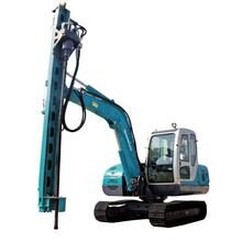 挖机改钻机液压凿岩机大笨象RYOU900挖机改装钻机图片