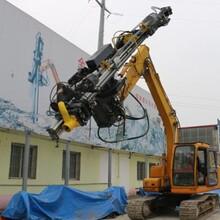 挖机改装成一台钻机要多少钱小型挖机改装钻机图片